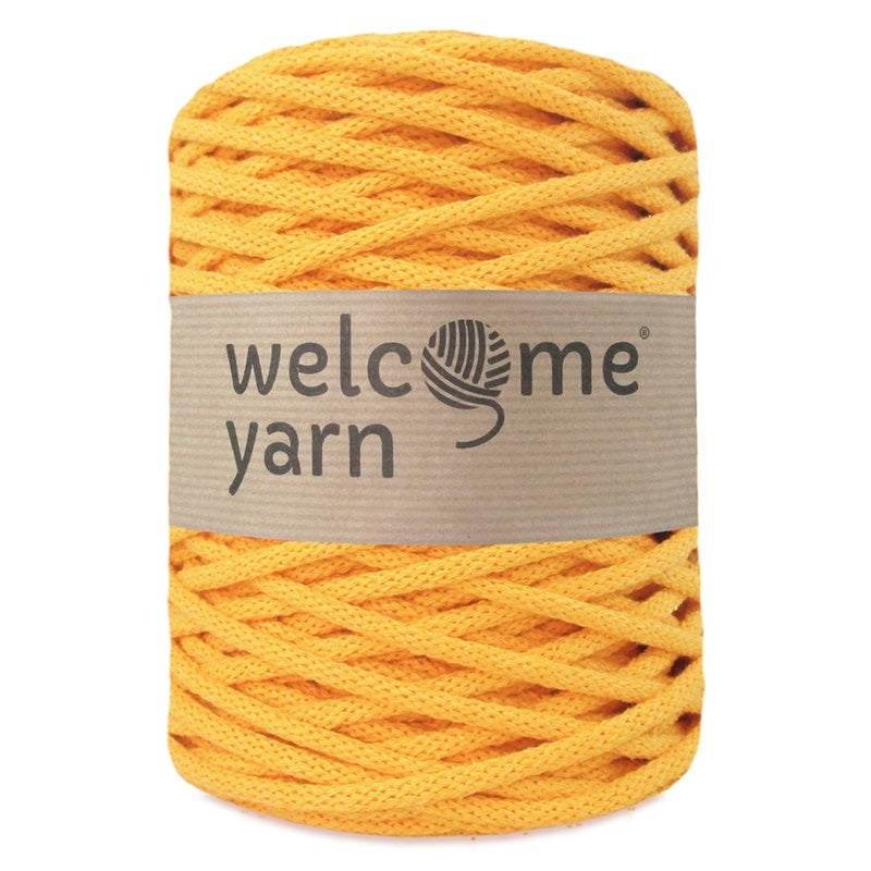 Cotton Cord 5mm Amber Yellow
