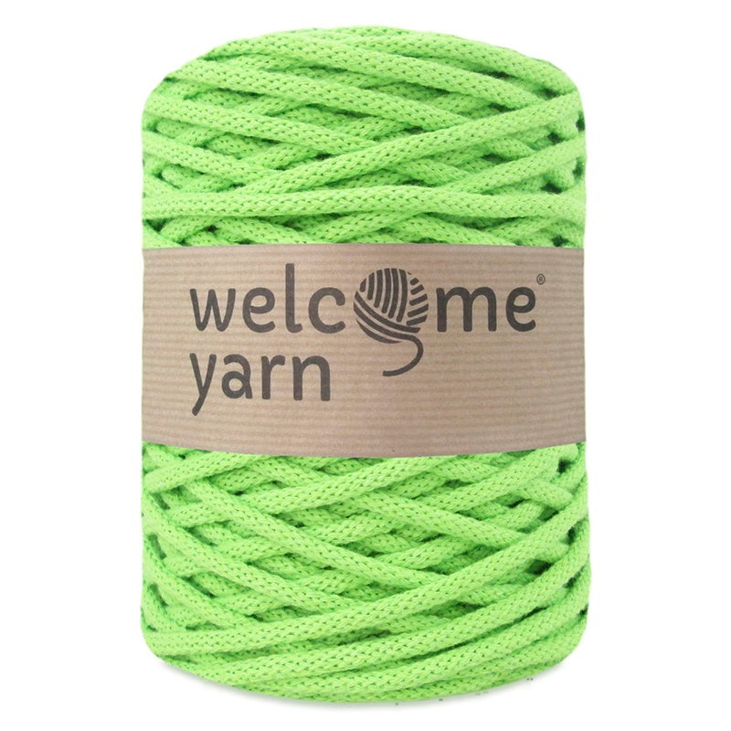 Cotton Cord 5mm Lime Green