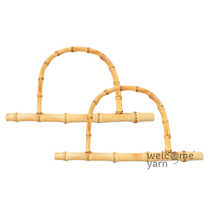 D Shaped Bamboo Handles