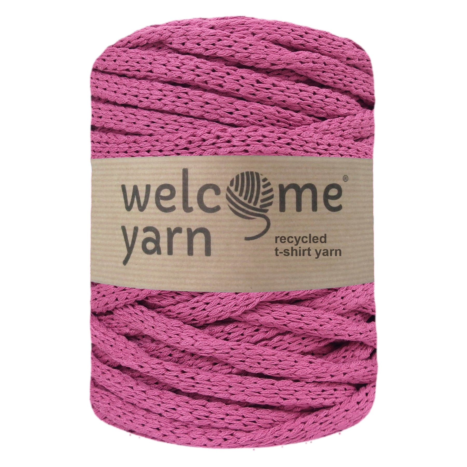 T-shirt Yarn Deep Rose