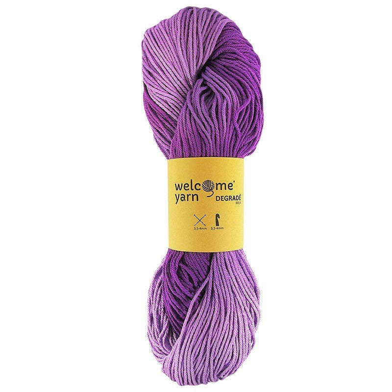 Degradé Yarn Shades of Purple