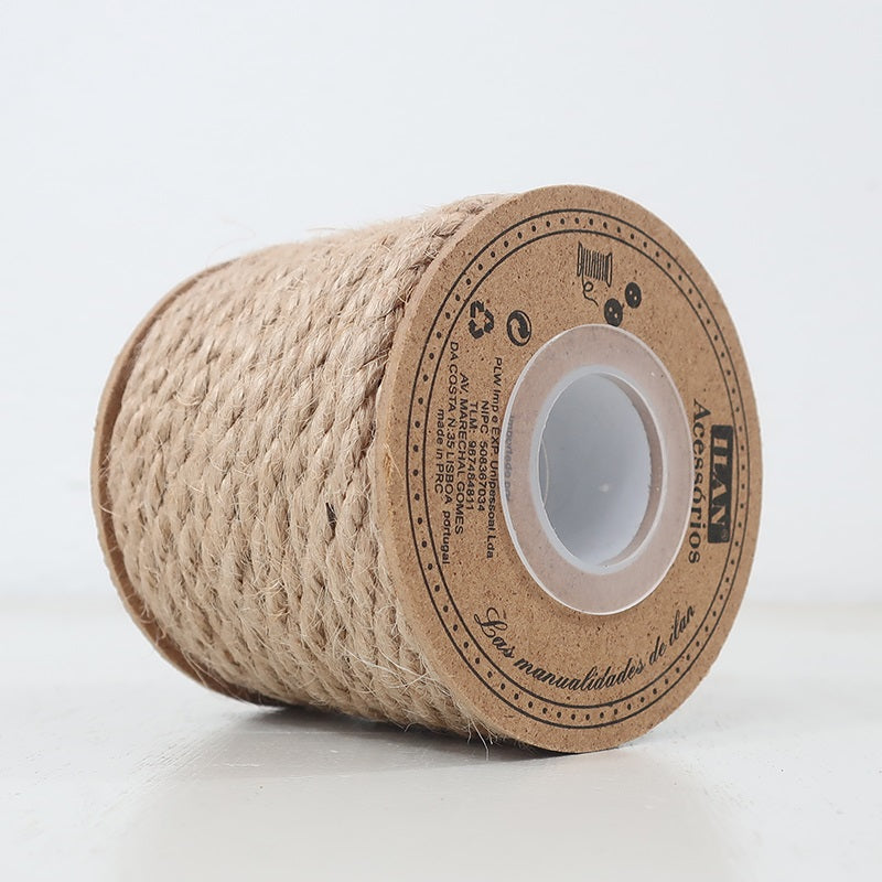 Natural Linen Rope 6mm