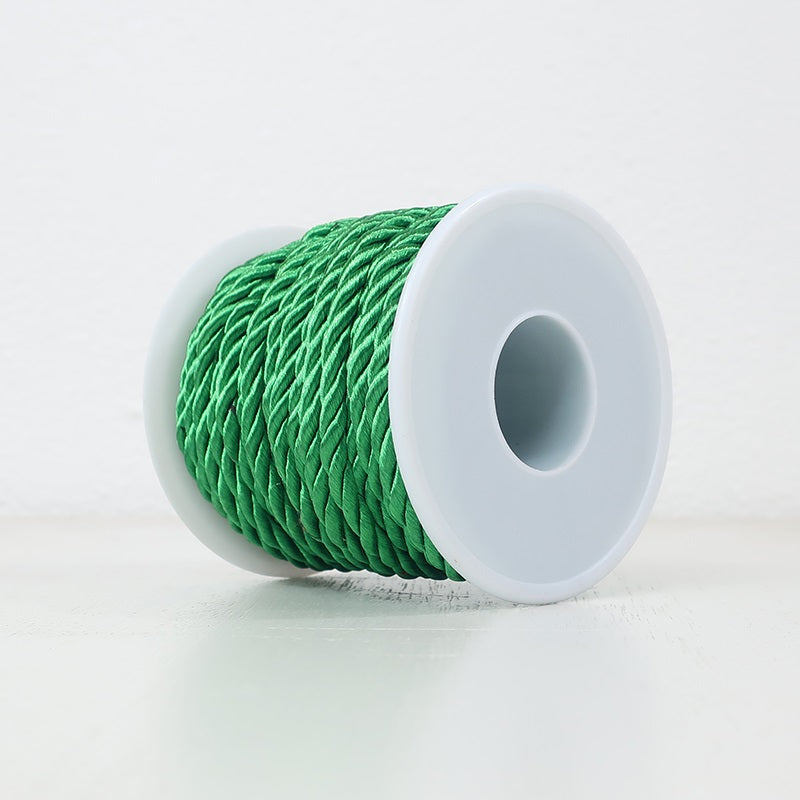 3PLY Cord 5mm Green