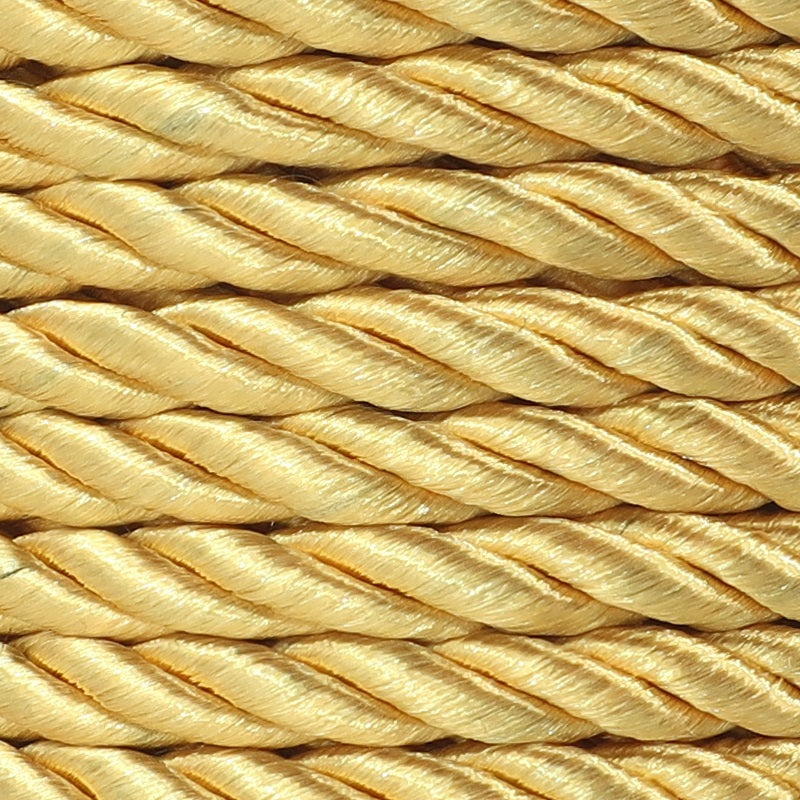 3PLY Cord 5mm Yellow