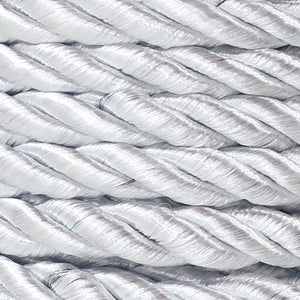 3PLY Cord 5mm Silver