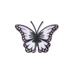 Iron-On Applique Purple Butterfly