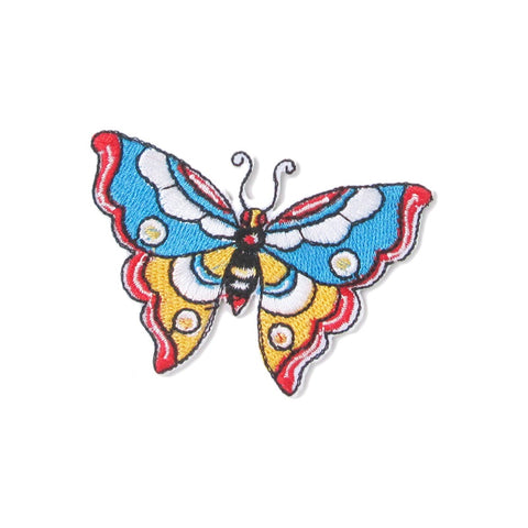 Iron-On Applique Colourful Butterfly