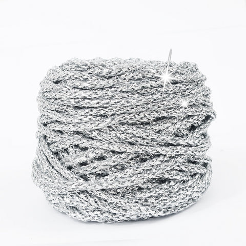 Metallic Yarn Silver