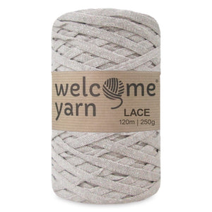 Lace Yarn Beige