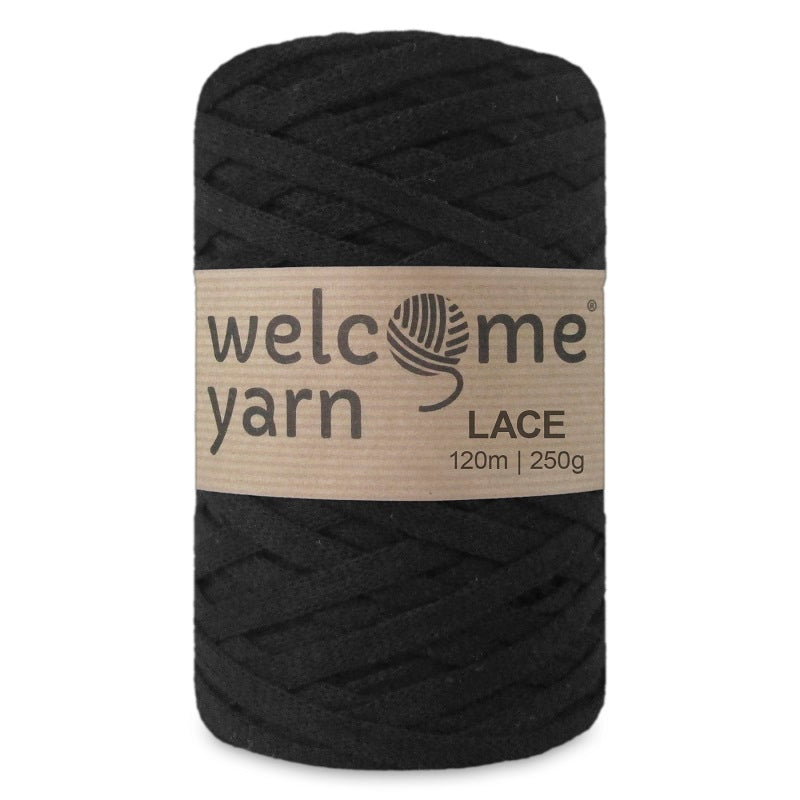 Lace Yarn Black