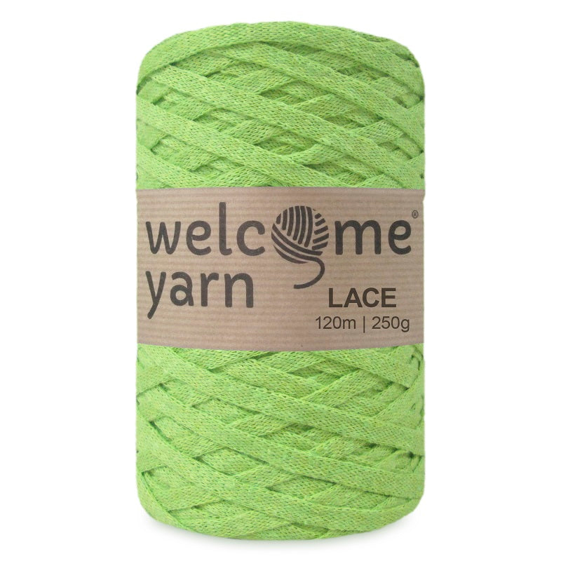Lace Yarn Lime Green