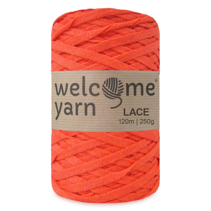 Lace Yarn Orange