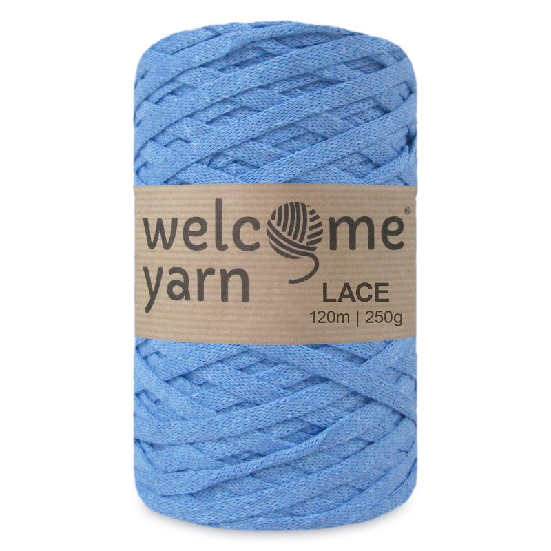 Lace Yarn Light Blue