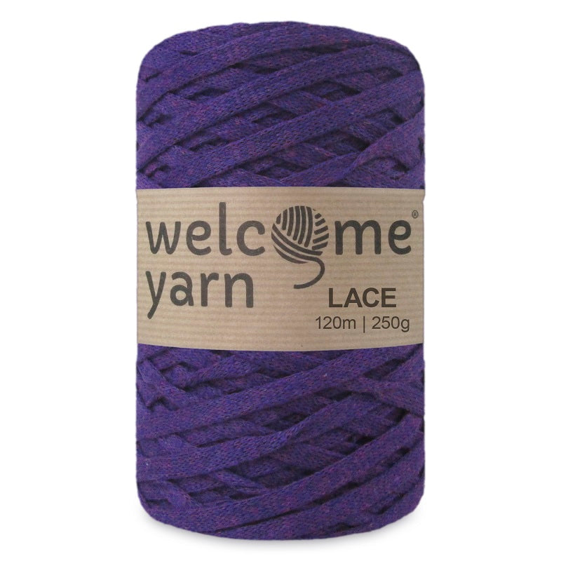 Lace Yarn Purple