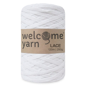 Lace Yarn White