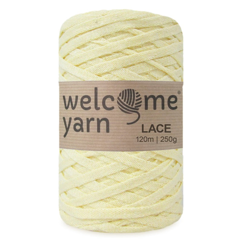 Lace Yarn Yellow