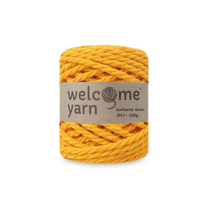 Barbante Yarn 3PLY 100g Amber Yellow