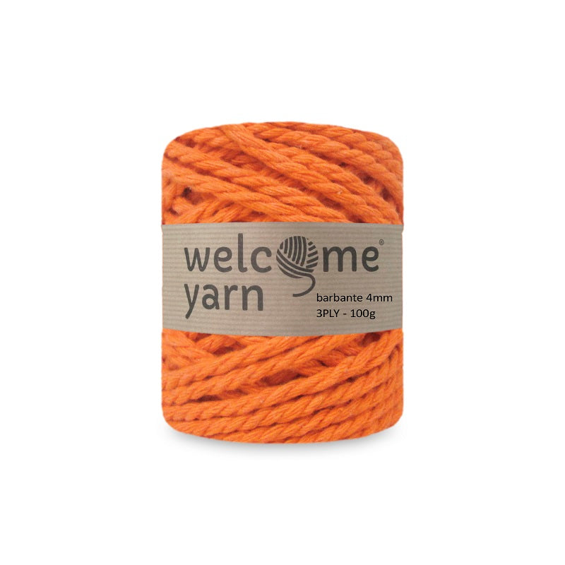 Barbante Yarn 3PLY 100g Orange