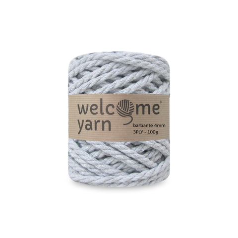 Barbante Yarn 3PLY 100g Light Grey