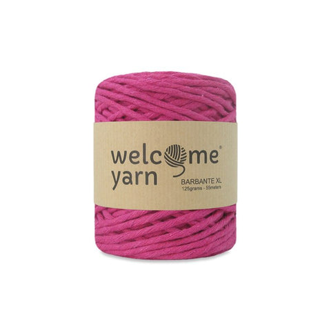 Barbante Yarn XL 125g Fuchsia Pink
