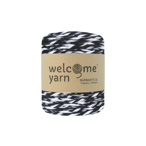 Barbante Yarn XL 125g Black and White