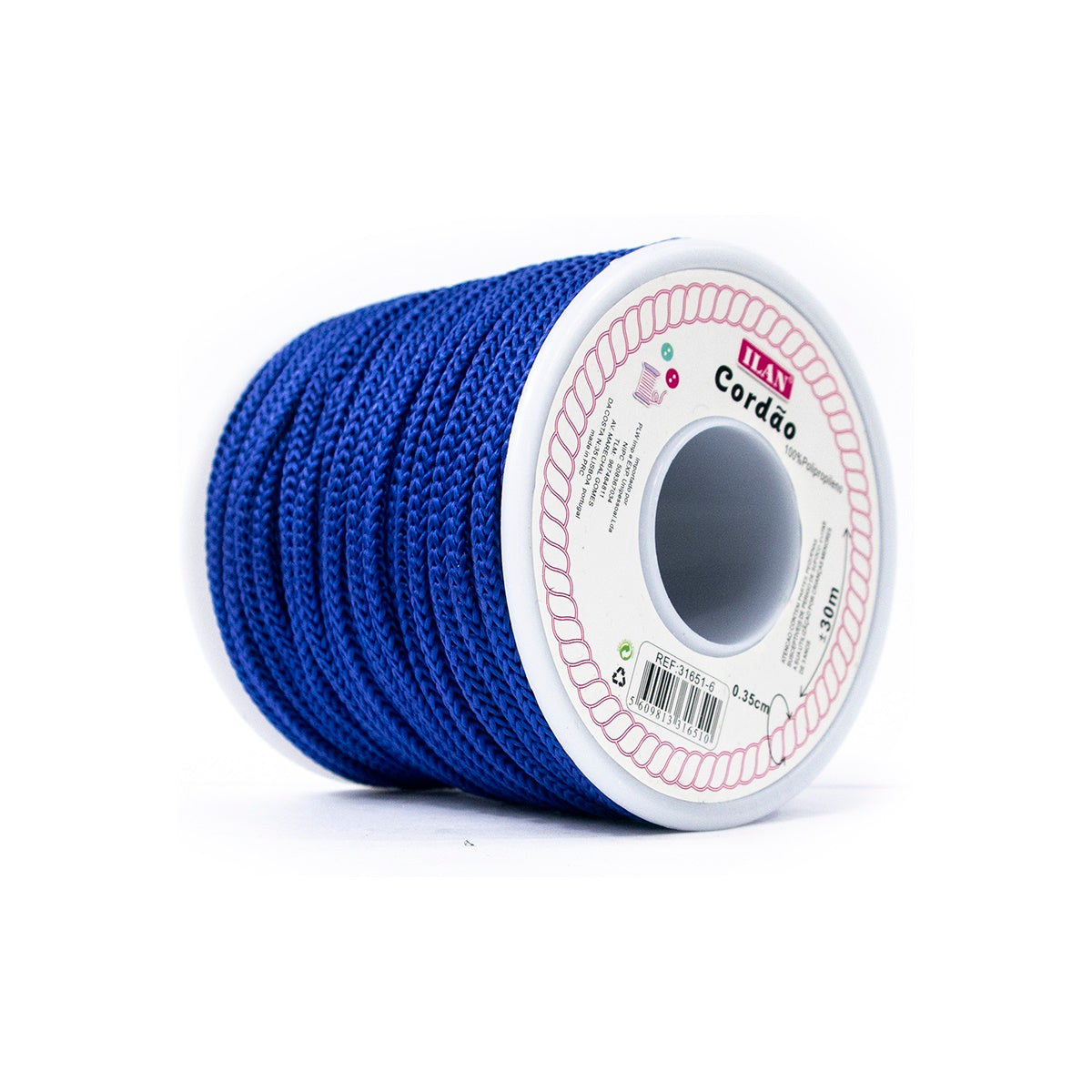 Macrame Cord 3.5mm Royal Blue