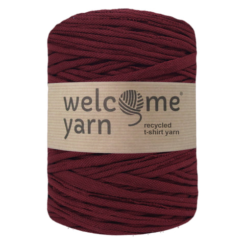 T-shirt Yarn Maroon