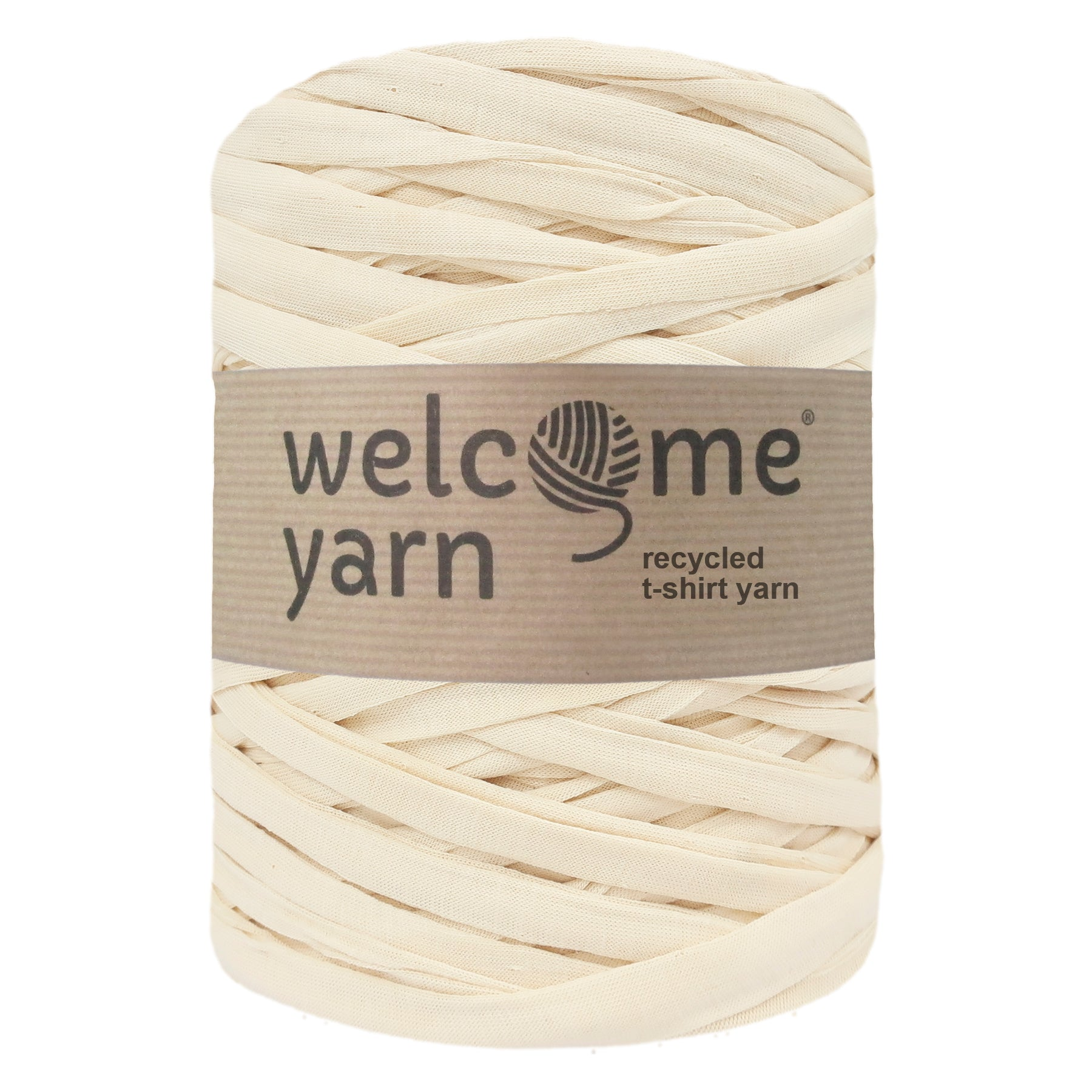 T-shirt Yarn Pale Yellow