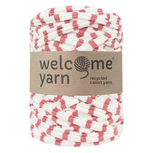 T-shirt Yarn Pink Stripes
