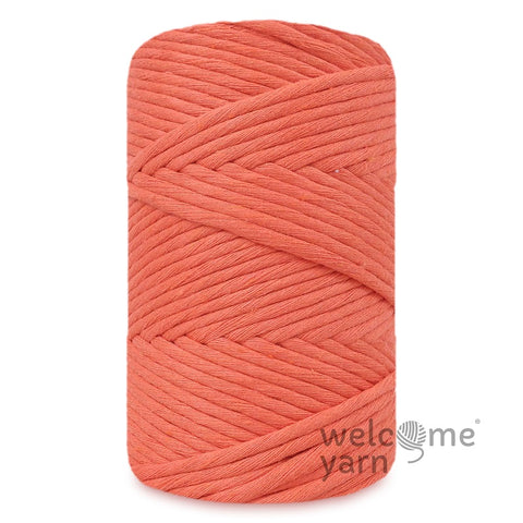Premium Macramé Cord Deep Orange