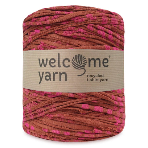 T-shirt Yarn Scruffy Stripes