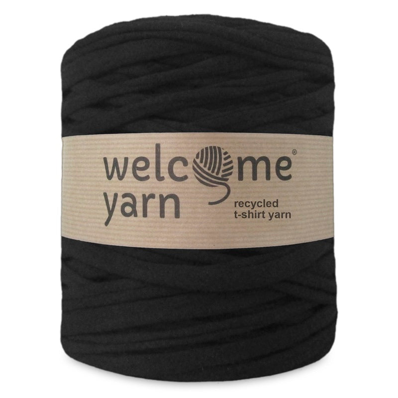 T-shirt Yarn Black