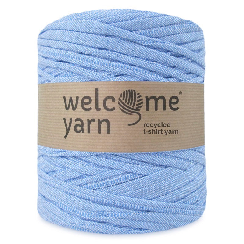 T-shirt Yarn Blue Denim