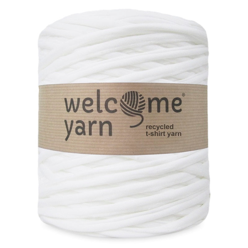 T-shirt Yarn Tulle White