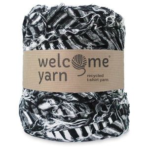 T-shirt Yarn Pink Lavender Flowers