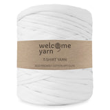 T-shirt Yarn Pink and White