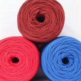 T-shirt Yarn Dark Red