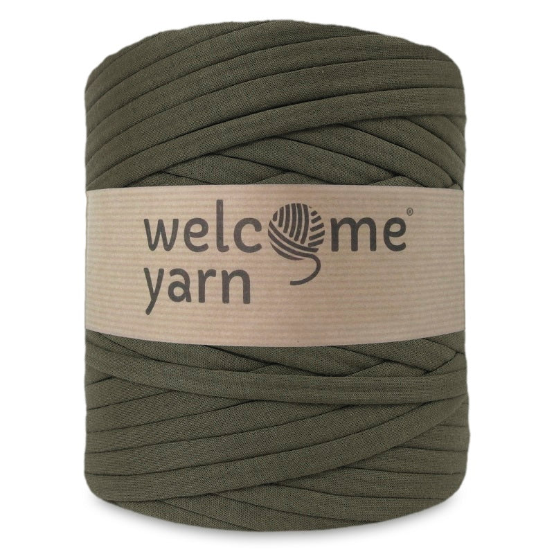 T-shirt Yarn Olive Green