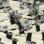 T-shirt Yarn Yellow and Black Stripes