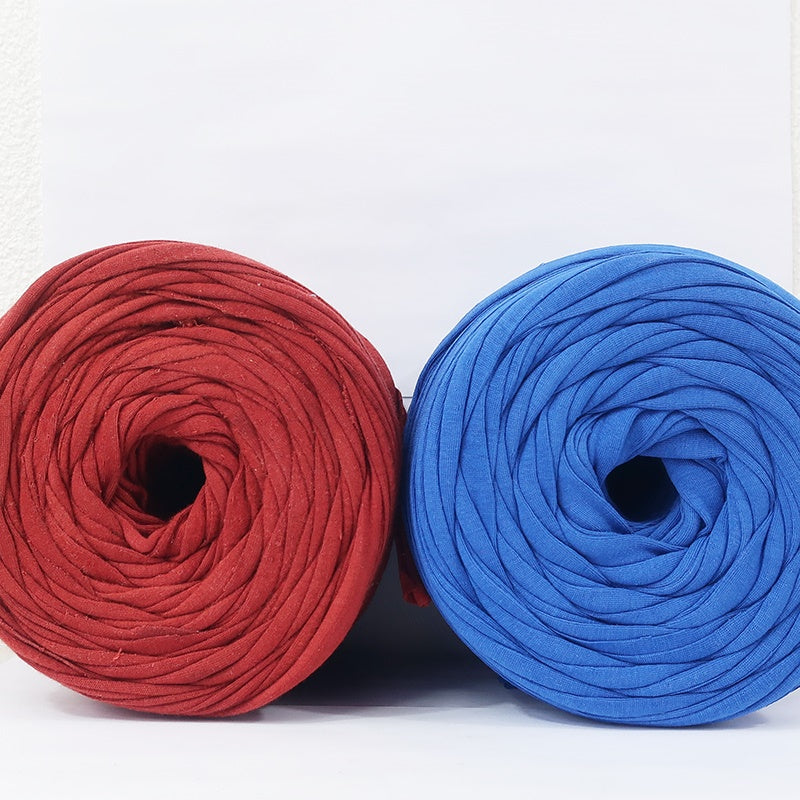 T-shirt Yarn Scruffy Orange