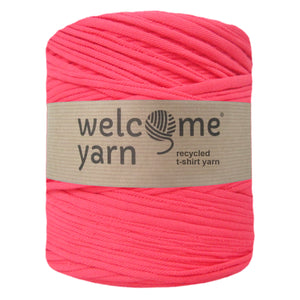 T-shirt Yarn Deep Pink