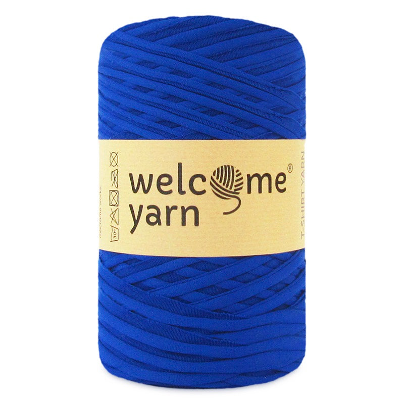 T-shirt Yarn Royal Blue