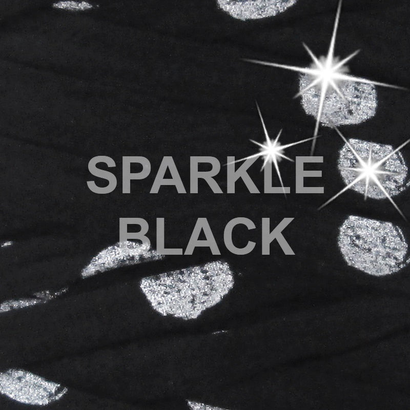 T-shirt Yarn Sparkle Black