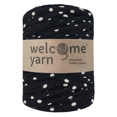 T-shirt Yarn White Dots