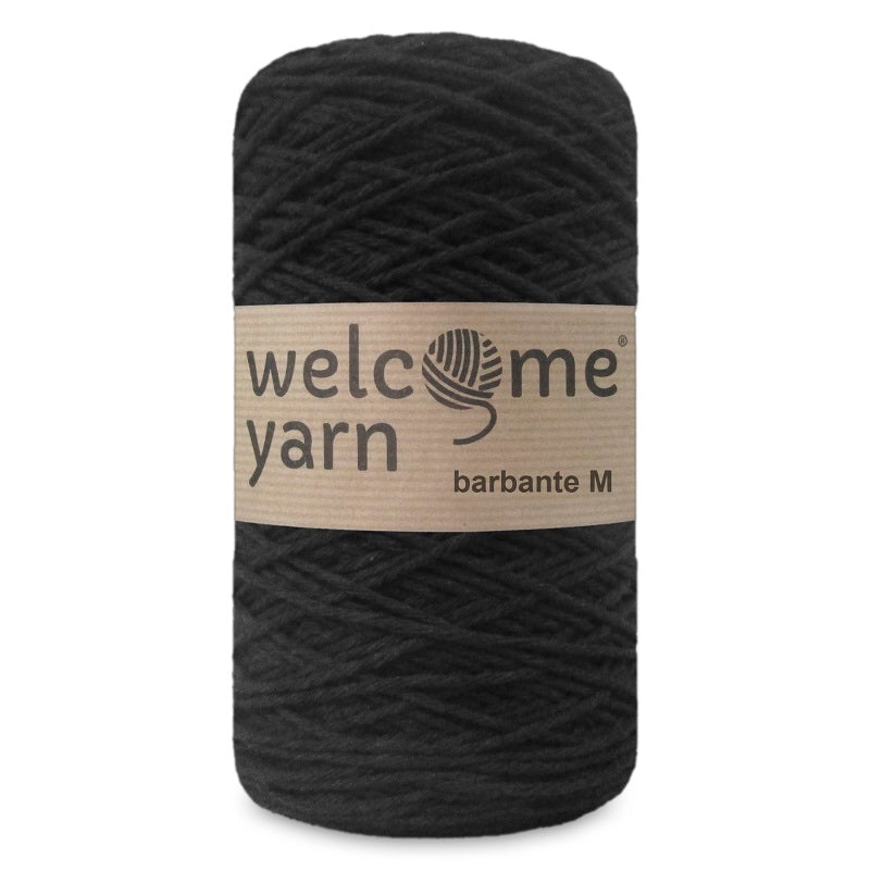 Barbante Yarn M Black