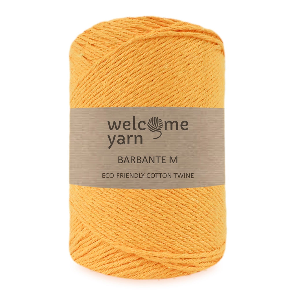 Barbante Yarn M Amber Yellow