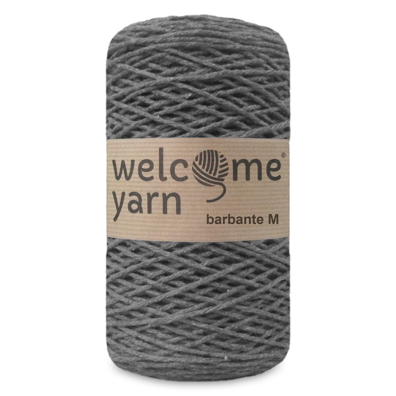 Barbante Yarn M Dark Grey