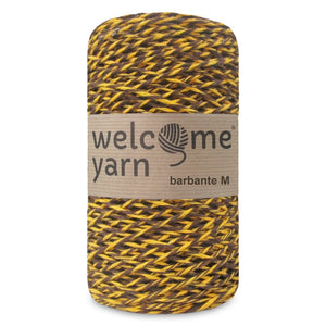 Barbante Yarn Brown and Yellow