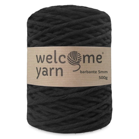 Barbante Yarn XXL Black