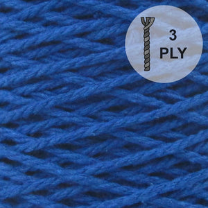 Barbante Yarn 3PLY Royal Blue